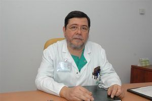 Doctor Francisco Santos. tabaquismo