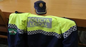 Uniforme de la Policía Local.