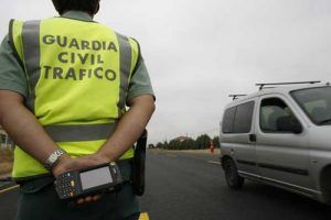 accidente conducir agente