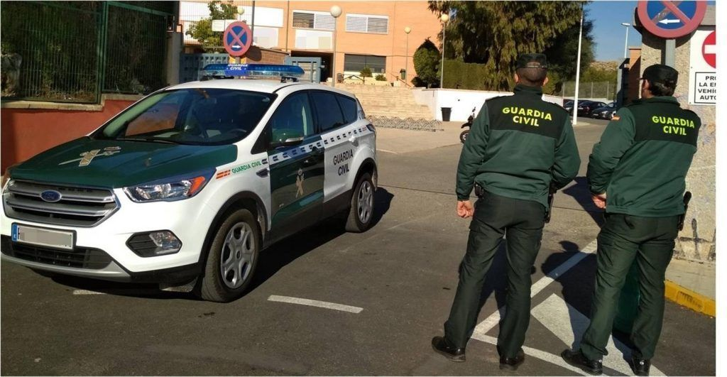 Agentes de la Guardia Civil. montoro naves heroína