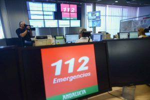 Emergencias 112 Andalucía. incidencias