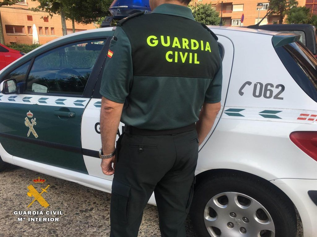 Agente de la Guardia Civil.senderistas