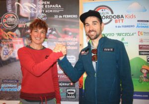 Marga Fullana y David Arroyo btt