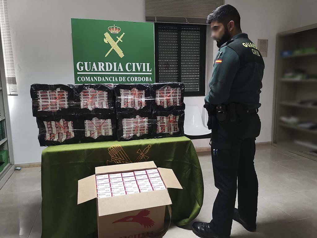 Cajetillas de tabaco intervenidas / Foto: Guardia Civil