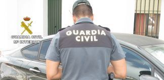 Agente de la Guardia Civil. peñarroya