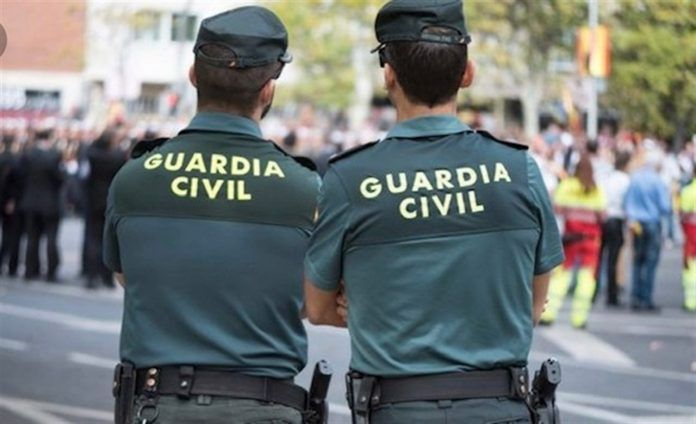 guardia civil Gómez festival
