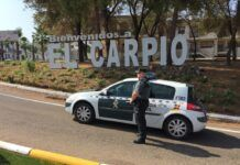 Puesto de la Guardia Civil en El Carpio./Foto: LVC