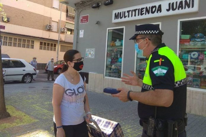 Policía Local mascarilla denuncias