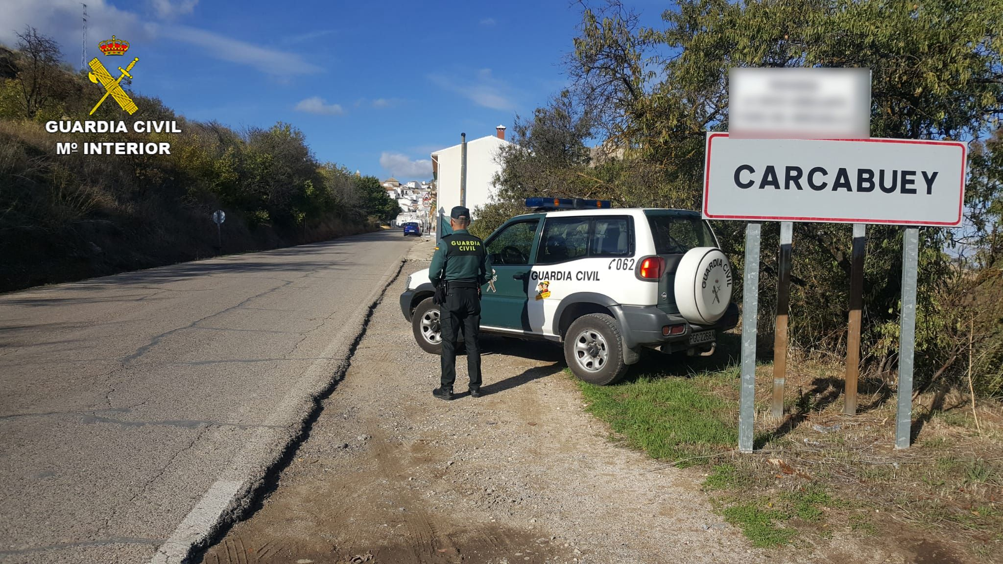 Puesto Carcabuey de la Guardia Civil.