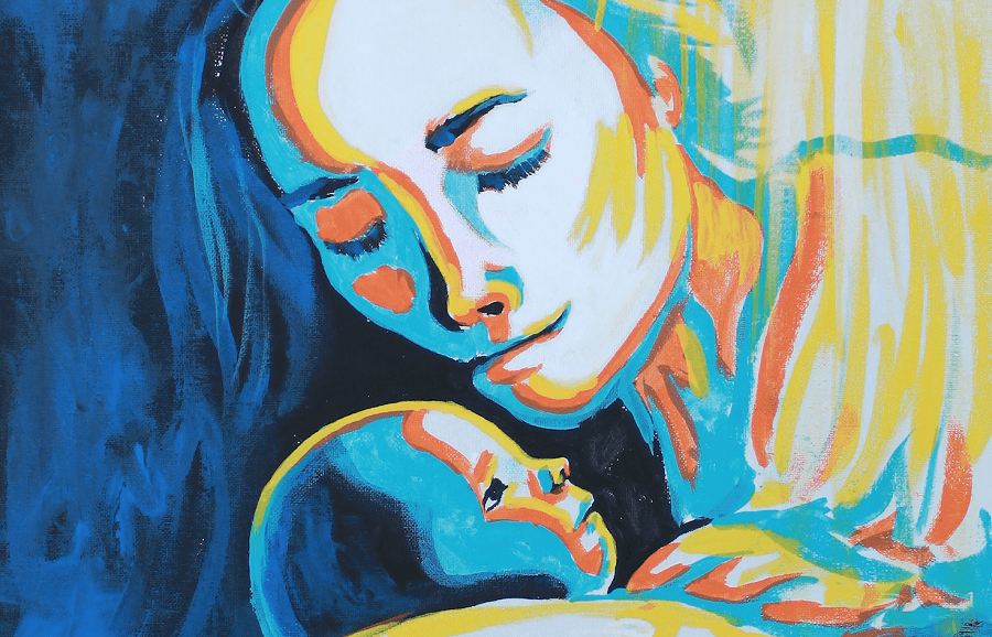 mary and baby jesus 1